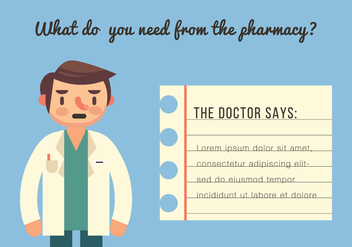 The Doctor Says - vector gratuit #425021