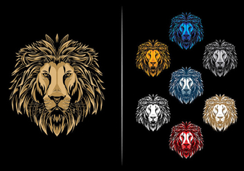Hydro74 Lion Vector - Free vector #425121