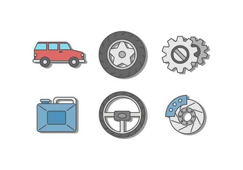 Free Car Repair Vectors - vector gratuit #425241