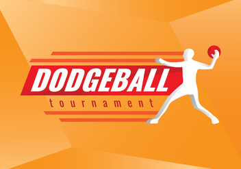 Free Dodgeball Tournament Vector Logo - vector gratuit #425311