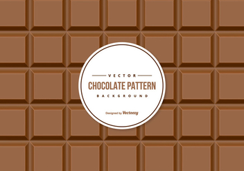 Chocolate Pattern Background - vector #425441 gratis