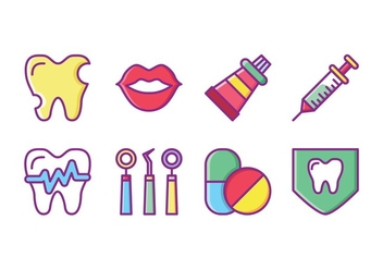 Free Dentist Icon Set - Kostenloses vector #425701