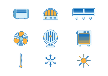 Free Heater Vector Icons - бесплатный vector #425711