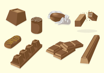 Chocolate Vector - vector #425751 gratis