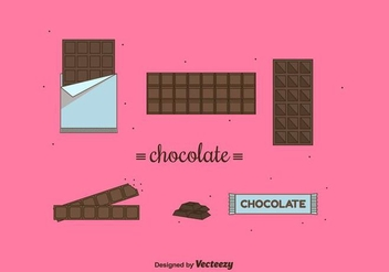 Chocolate Vector - vector gratuit #425771