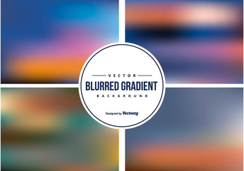 Colorful Blurred Backgrounds Collection - vector #425841 gratis