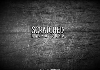Vector Scratched Wall - vector gratuit #425981