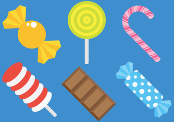 Free Toffee and Candy Icons Vector - Kostenloses vector #426161