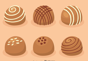 Delicious Choclate Vectors - бесплатный vector #426591