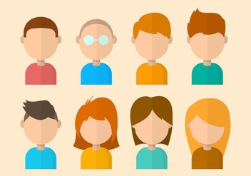 Free Personas Vector Collection - Free vector #426711