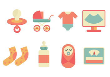 Free Maternity Vector Icons - бесплатный vector #426831