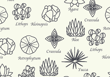 Botanical Pattern - vector #426891 gratis