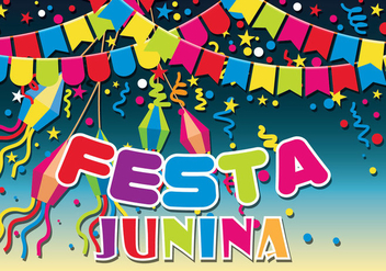 Festa Junina Vector Illustration - Free vector #427141