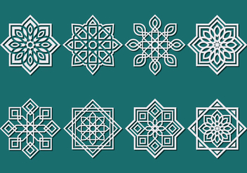 Islamic Ornament Vector - vector #427611 gratis