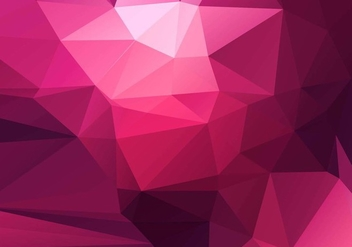 Free Vector Modern Polygon Background - Kostenloses vector #428041