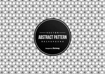 Abstract Geometric Pattern Background - vector gratuit #428171