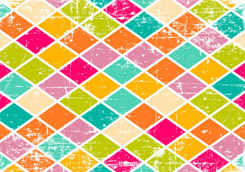Colorful Scratched Pattern Background - vector gratuit #428311
