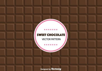 Sweet Chocolate Pattern - Free vector #428671