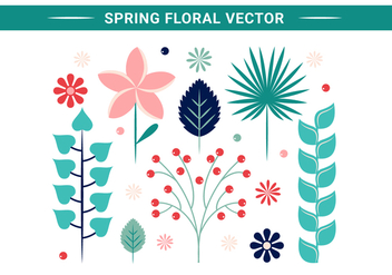 Free Spring Flowers Vector Design - Kostenloses vector #428701