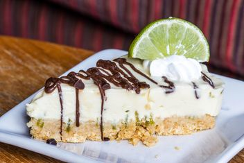 Piece of lime pie - Free image #428761