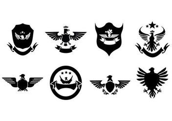 Free Eagle Badges And Logo Collection Vector - бесплатный vector #428841