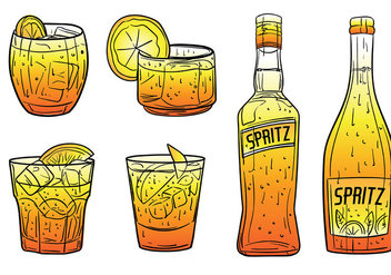 Free Spritz Icons Vector - Free vector #429201