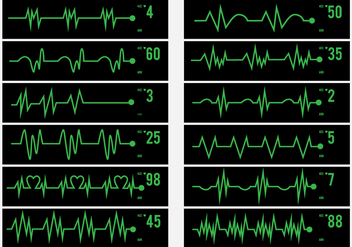 Electrical Activity Human Pulse Icon - Free vector #429221
