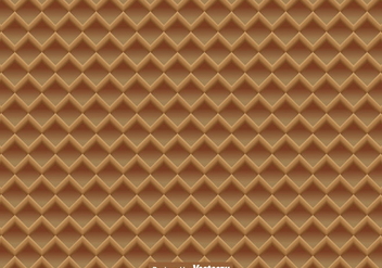 Vector Waffle Close Up Seamless Pattern - Free vector #429491