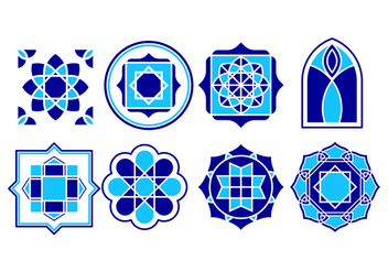 Free Islamic Ornament Vector - Free vector #429561