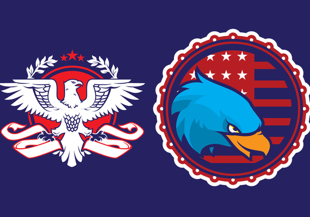 Eagle Propaganda Badge - Kostenloses vector #429591