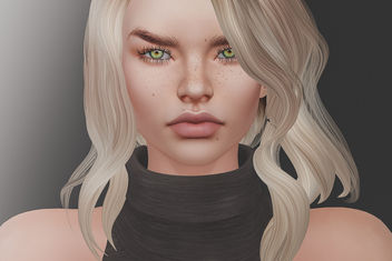 Akeruka Asya Bento Mesh Head @ Black Fair 2017 - бесплатный image #429731