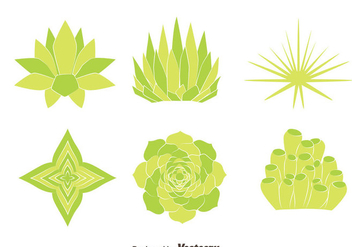 Green House Plant Vectors - бесплатный vector #429871