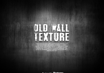 Old Dark Wall Texture - Vector - Free vector #429891