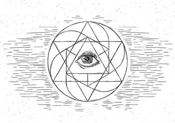 Free Sacred Geometry Vector Illustration - vector gratuit #430101