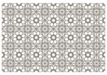Seamless Islamic Pattern Vector - vector #430591 gratis