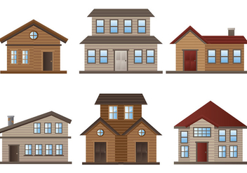 Free Chalet Icons Vector - бесплатный vector #430611