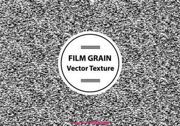 Abstract Film Grain Vector Texture - Kostenloses vector #430641