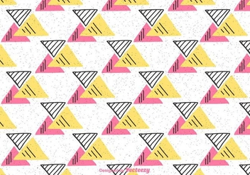 Triangle Geometric Background - vector gratuit #430781