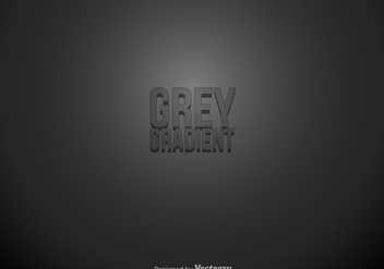 Grey Gradient Abstract Background - vector #431031 gratis