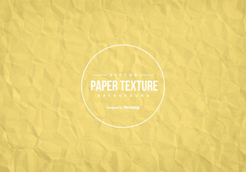 Wrinkled Paper Texture Background - Free vector #431201