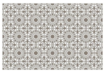 Seamless Islamic Pattern Vector - Free vector #431281