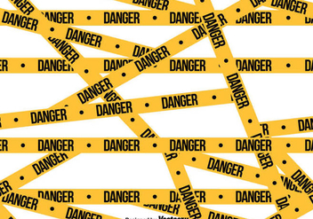 Vector Danger Tape SEAMLESS Pattern - Kostenloses vector #431771