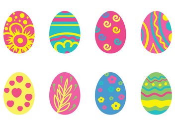 Easter Egg Icon Vector - бесплатный vector #432151