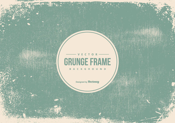 Grunge Frame Background - vector gratuit #432481