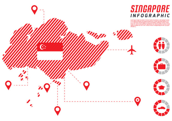Singapore Infographic - vector #432511 gratis