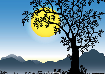 Beautiful Landscape Scene - vector gratuit #432561