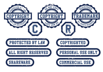 Copyright Icon Vector - Free vector #432611