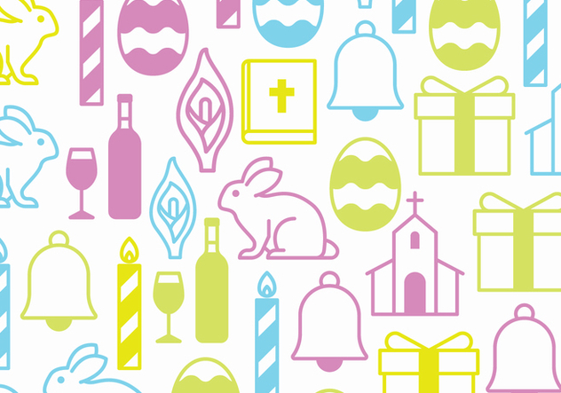 Easter Symbols - Free vector #432901