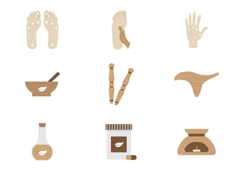 Free Physiotherapist Vector Icon Collections - vector gratuit #433211