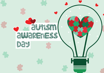 Autism Awareness Day - vector #433281 gratis
